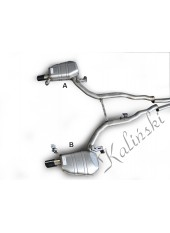 Silencieux NEUF  BMW SERIE 6  / GRAND  COUPE   /CABRIO/ COUPE  /  2011- / DROIT / 78123497